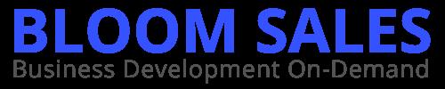 Bloom Sales - Business Development as a Service